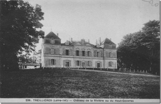 Le château du Haut-Gesvres où le maire Etienne Sébert héberge quelques réfugiés