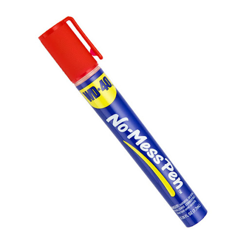 This travel-size WD-40 pen will come in handy on your neighbors move-in day. (containerstore.com)