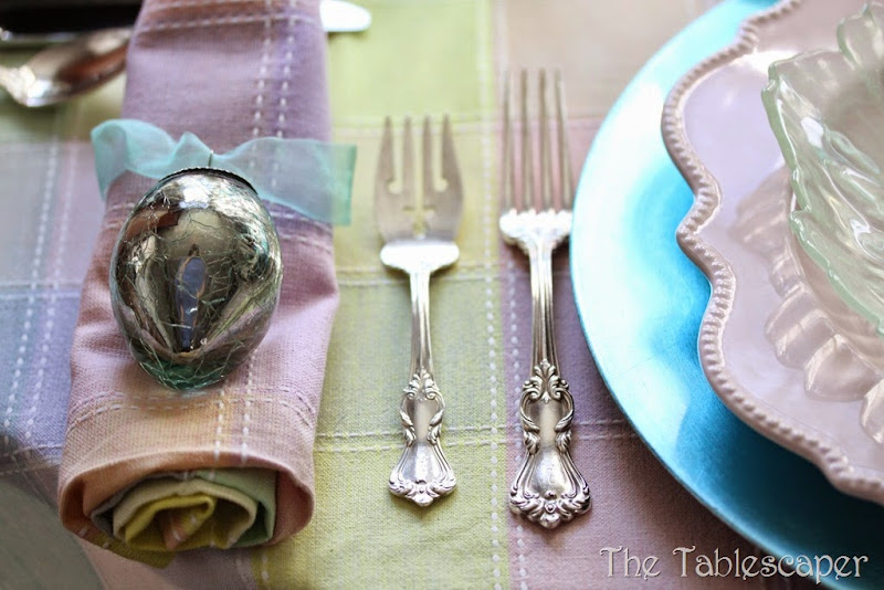 Tablescape Sparkling Easter - The Tablescaper06