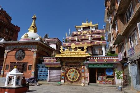 28. Manastire budista Kathmandu.JPG