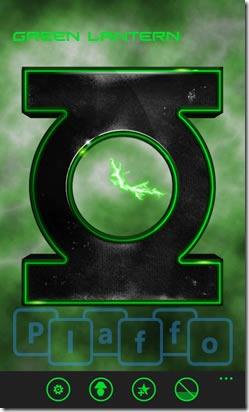 Green Lantern Clock1