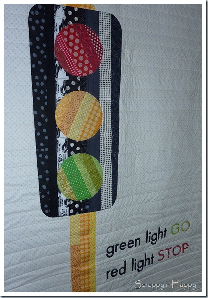 Traffic light quilt 1
