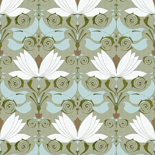 lotos pattern by Maria Khersonets - 1