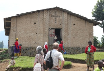 Friends Meeting House in Rural Rwanda (near Gisenyi)