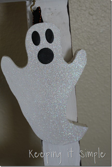 DIY Halloween Ladder decor (10)