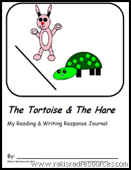 Free, printable Tortoise and the Hare Readers Response Packet - printable from Raki's Rad Resources.