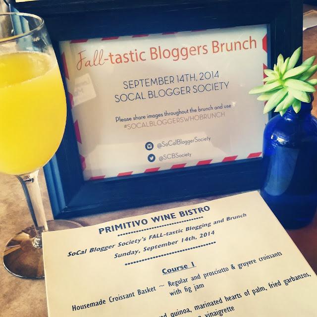 SoCal Blogger Society Fall Brunch