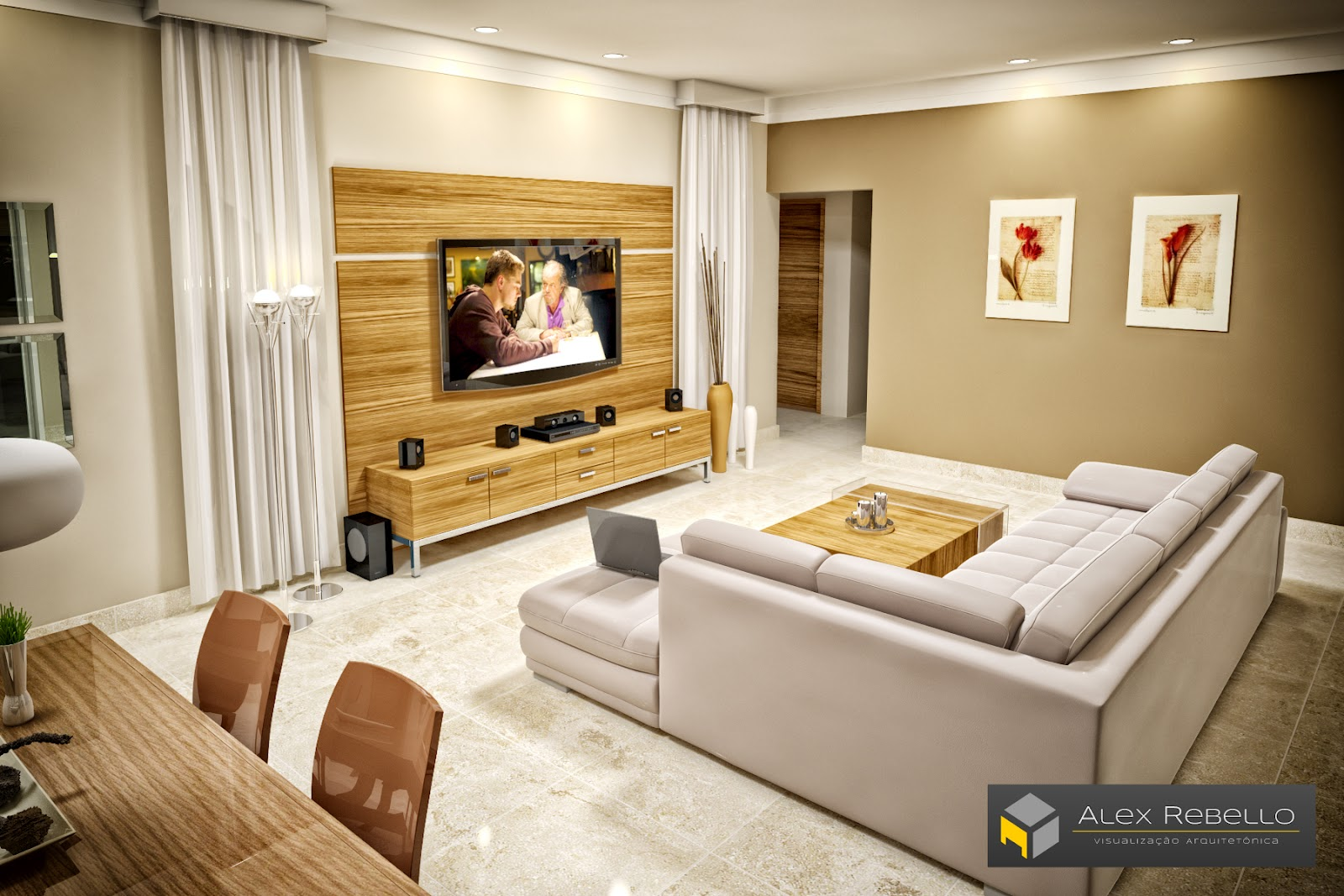 Sala estar thumbgal for Wallpaper sala de estar