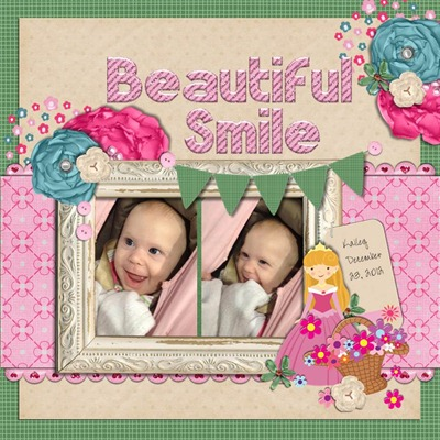 Mommy Me Time Scrapper - Innocence - Beautiful Smile
