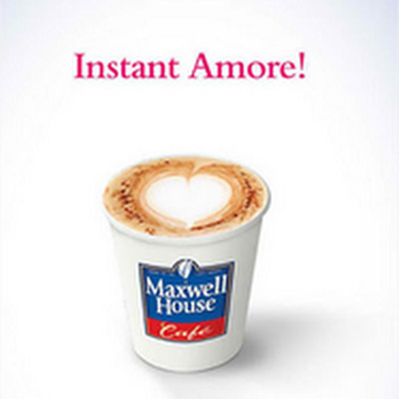 Publicidad creativa sobre café