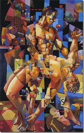 Achilles and Patroclus - Richard Taddei