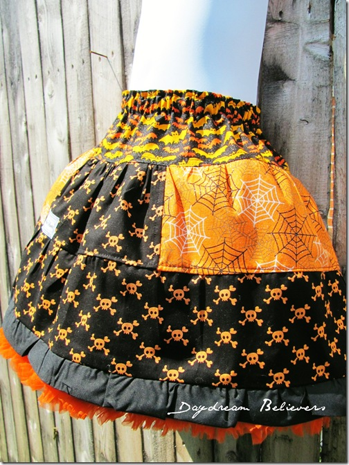 the bees knees ultimate halloween pettiskirt