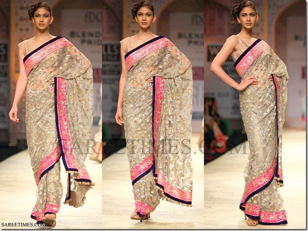 Manish_Malhotra_Georgette_Saree