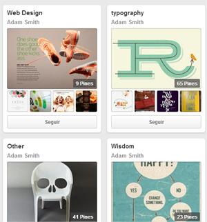 les presento 15 cuentas a seguir en Pinterest de diseñadores gráficos