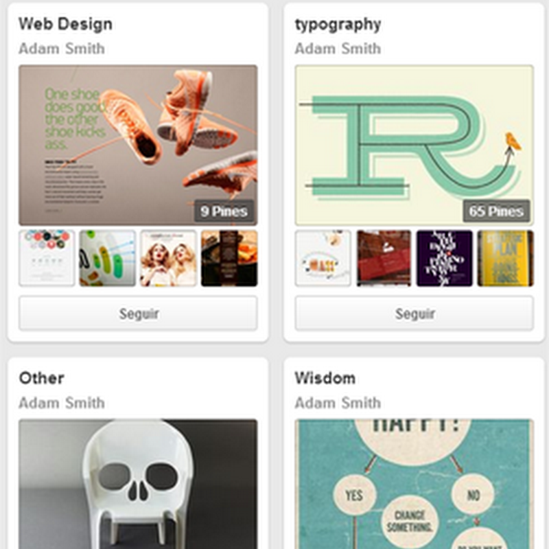 15 cuentas a seguir en Pinterest de diseñadores gráficos