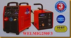 ตู้เชื่อมไฟฟ้าMIG-MAG 250F ย่อ