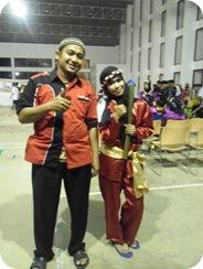 Parade Tari Daerah di SMAN Pintar Kuantan Singingi,Dalam Pagelaran Karya Seni Tari V (PAKASERI V) 2013 2