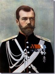 Zar Nicolas II de Rusia