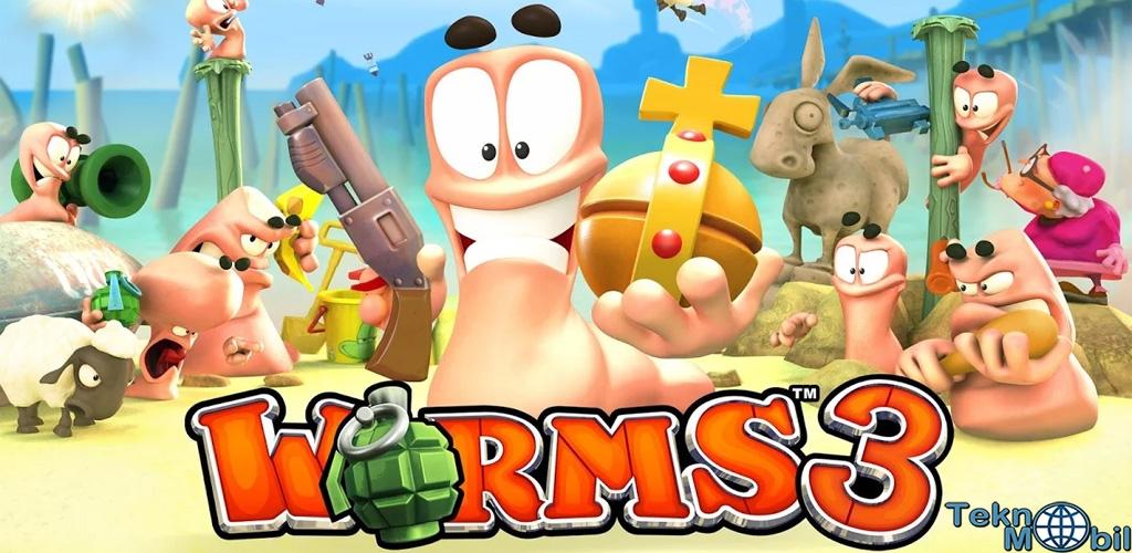Worms 3 Full Apk