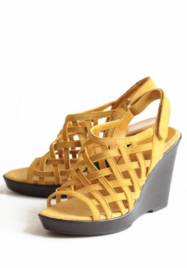 ruche sunchine afternoon wedges