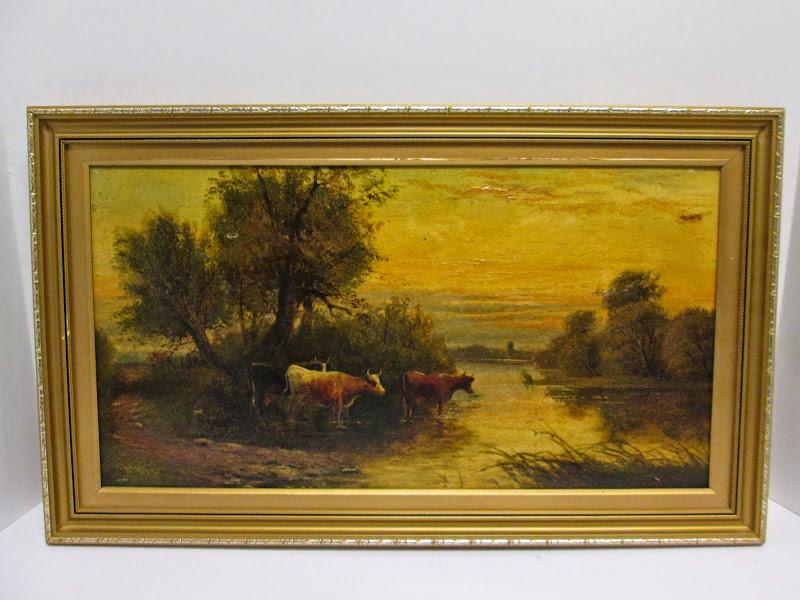 J. Morris Signed Landscape 2