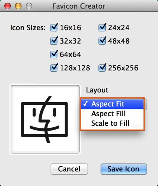 Mac app developertools favicon creator4