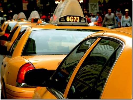 yellow-cab-row-taxi-rank