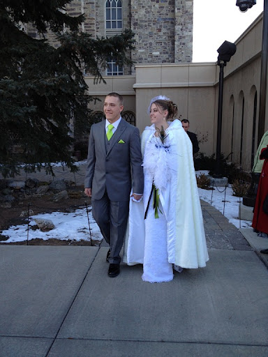 Their reception will be January 6th at the Swan Lake LDS Church