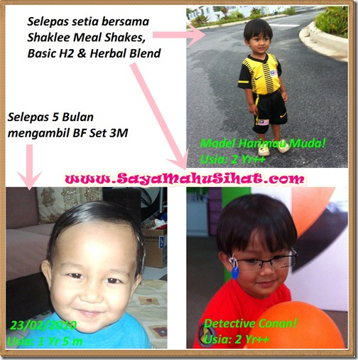 Selepas pengambilan 3M Breastfeeding_Shaklee Meal Shakes_Basic H2_Herbal Blend