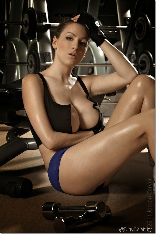 sweaty-Jordan-Carver-Gym-8