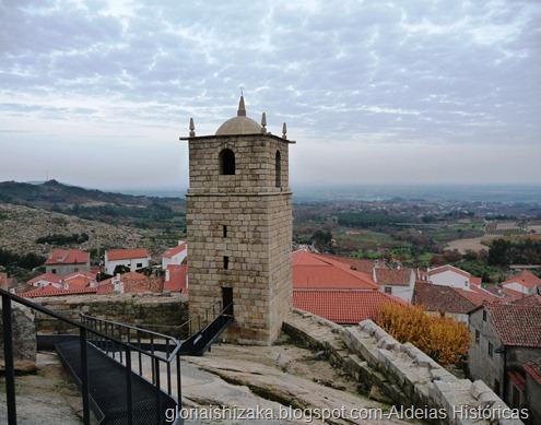 Portugal -Castelo Novo - castelo - torre do relógio -Glória Ishizaka