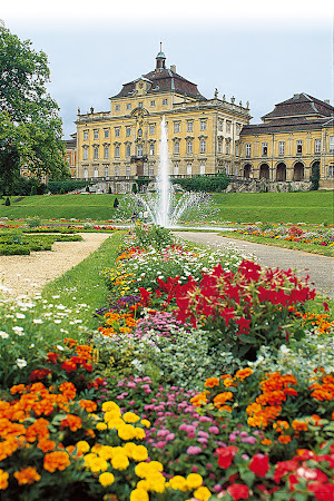 Views of Germany: baroque architecture in Stuttgart