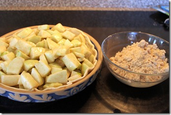 Apple Crumb Pie 009