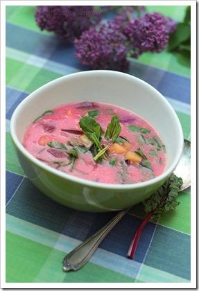 Przy dużym stole: Botwinka - zupa na wiosnę