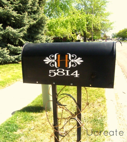 mailbox makeover complete