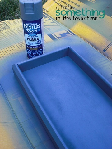 Faux Zinc Tray Primer WM