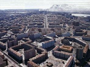 edificios-en-Norilsk-El-núcleo-poblado-más-al-norte-de-Siberia