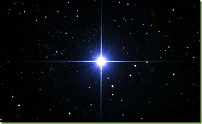 hub's picture of sirius the dog star
