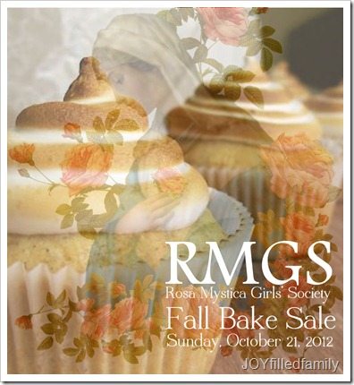 RMGS Fall Bake Sale 2012 logo