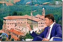 Matteo Renzi e il santuario di Monte Senario