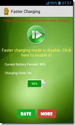 تطبيق تسريع شحن البطارية Faster Charging للأندرويد