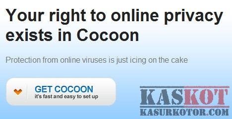 Menjaga Privasi Online/Browsing Aman dengan Cocoon