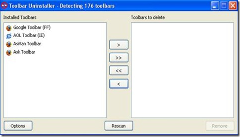 Toolbar Uninstaller