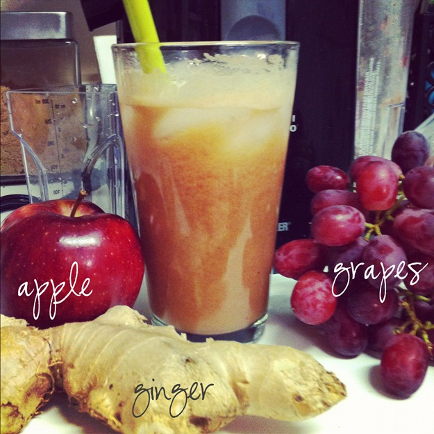 ginger apple grape juice
