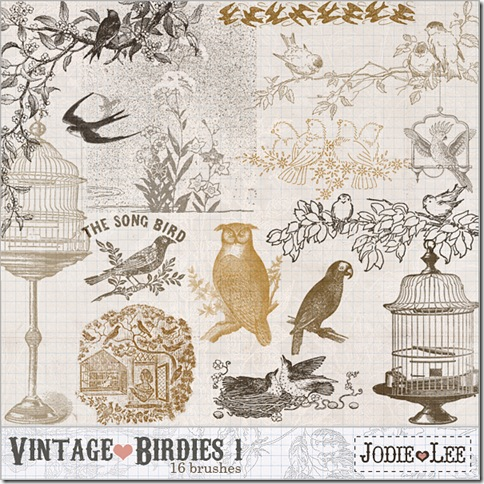 JL_VintageBirdies1_Brushes_Preview