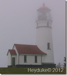 Cape Blanco State Park lighthouse