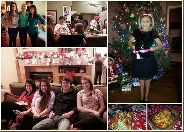 xmas eve 2013 collage