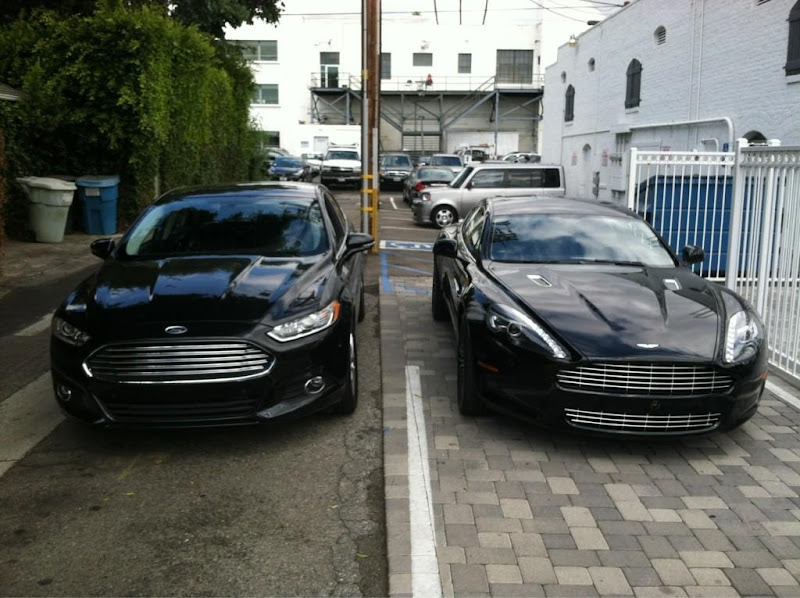 So Does the New Ford Fusion  Mondeos Snout Resemble that of the