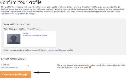 confirm profile
