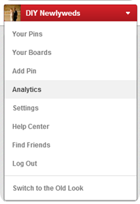 Access Pinterest Analytics